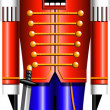 Stock Vector: Nutcracker