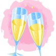 Champagne — Stock Vector #1830035
