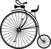 Vintage bicycle — Stock Vector
