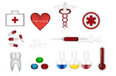 Medical vector icons — Stock Vector