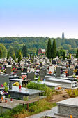 Catholic cemetery — Stock Photo