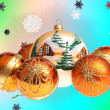 Christmas background — Stock Photo #14098908