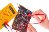Electronics engineer — Stock Photo