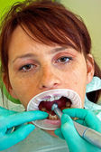 The dentist — Stock Photo