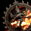 Statue of indian hindu god Shiva Nataraja - Stockfoto