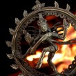Statue of indian hindu god Shiva Nataraja - Zdjcie stockowe