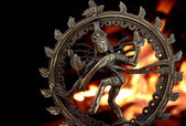 Statue of indian hindu god Shiva Nataraja — Stock Photo
