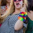 Pecs city carnival — Stock Photo
