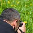Nature photographer — Stock Photo