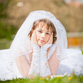 Young bride — Stock Photo