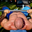 Bodybuilder training - Photo