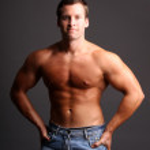 Muscular model — Stock Photo