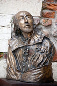 William Shakespeare statue — Stock Photo