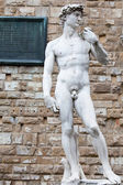 The statue of David — Stock Photo