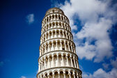 Šikmá věž, pisa, Itálie — Stock fotografie