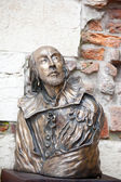 William shakespeare-statue — Stockfoto