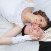 Wedding couple — Stockfoto