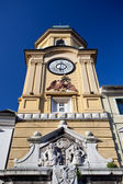 Clock Tower in Rijeka, Croatia — Stock Photo