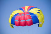 Colorful parachute — Stock Photo