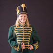 Hungarian hussar woman — Stock Photo #27008831