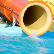 Stock Photo: Waterslide