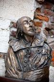 Statua di william shakespeare — Foto Stock