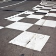 Foto Stock: Car race asphalt