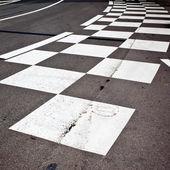 Car race asphalt — Stockfoto