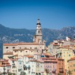 View of old town, Menton — Stock Photo