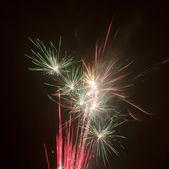Beautiful colorful firework — Stock Photo