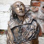 William Shakespeare statue — Stock Photo