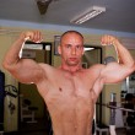 Bodybuilder training — Stock Photo #37450187