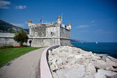 Bastion in Menton — Stock Photo