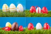 Easter eggs theme — Stock Photo