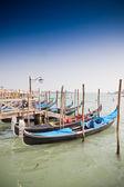 Venice, Italy with gondolas — Stock Photo