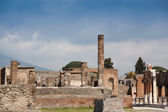 Ancient town Pompeii in Italy — Foto de Stock