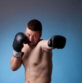 Kick-boxer — Stock fotografie