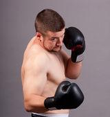 Kick-boxer — Stok fotoğraf