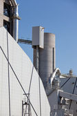 Cement factory — Stock Photo