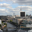 Berlin aerial view - Stock Photo