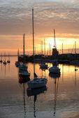 Sunset at Howth — Stock fotografie
