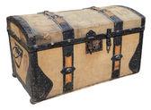 Old travel box — Stock Photo