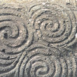 Triple spiral - Newgrange — Stock Photo #36296247
