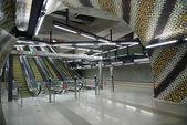 станция метро будапешта — Стоковое фото