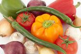 Colorful vegetable — Stock Photo