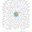 Maze game for kids — Stock Vector #13133066