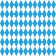 Stock Vector: Seamless Oktoberfest pattern with fabric texture