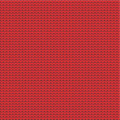 Red knitted background — Stock Vector
