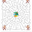 Maze game for kids — Stock Vector #15595547