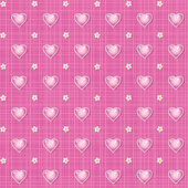 Seamless Valentines Day or wedding background — Stok Vektör